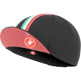 Castelli Rosso Corsa Fietspet Heren, black